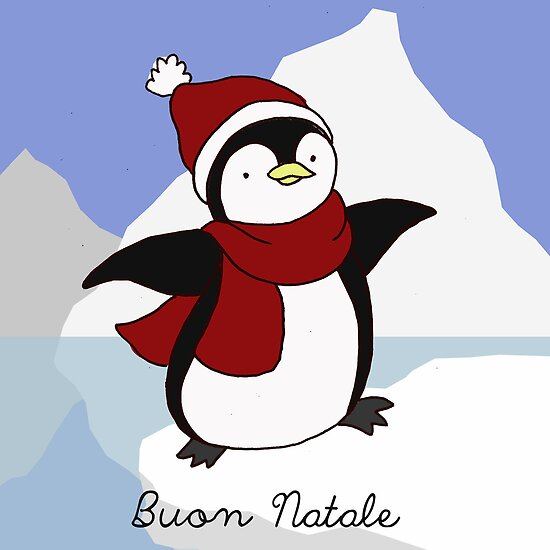 Buon Natale Penguin by MADCreations