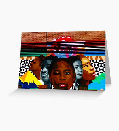 Harlem Street Art Greeting Card