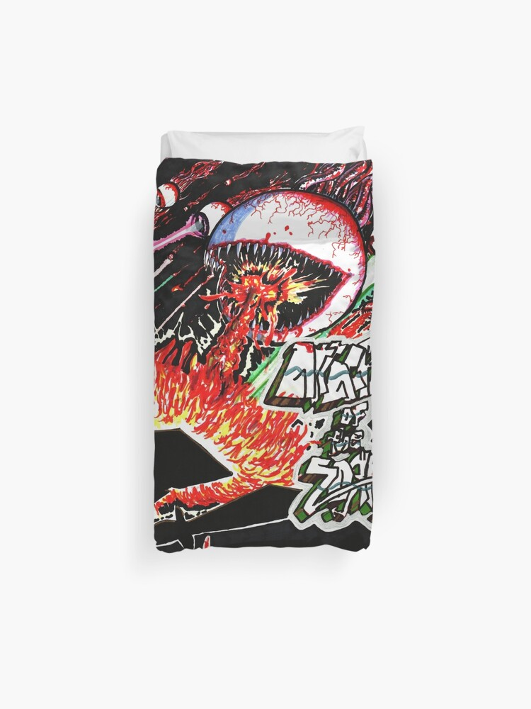 Attack of the ZORK | Duvet Cover