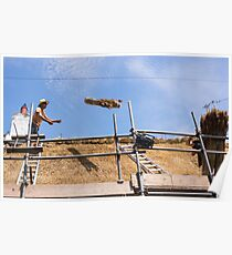 thatching Poster