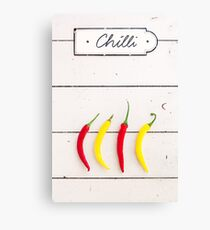 Chili Canvas Print