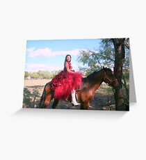 16 th BD A WOMAN IN MEXICAN EYES Greeting Card