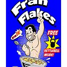 Fran Flakes-iphone case by Wookiehumper