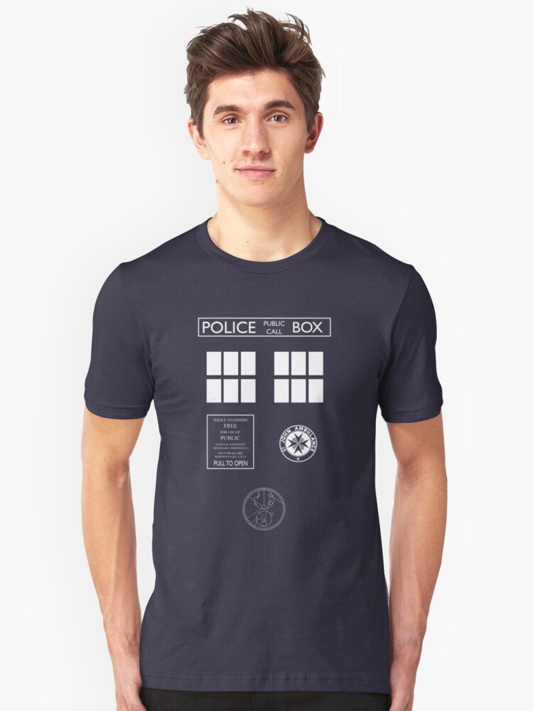 Custom Tardis Costume Shirt by Gnugash