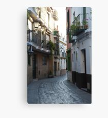 [A Street] of Triana Canvas Print