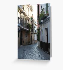 [A Street] of Triana Greeting Card