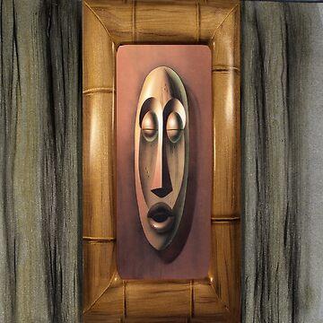 Tiki Copper / Bamboo Frame by DaleSizer