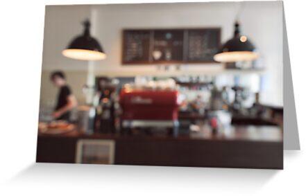 Coffee Shop Bokeh by visualspectrum
