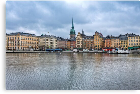 Gloomy Sky Over Stockholm by pixog