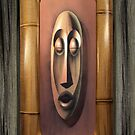 Tiki Copper / Bamboo Frame by Dale  Sizer