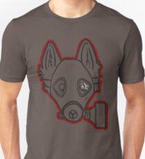 Gas Mask Wolf Broken Unisex T-Shirt