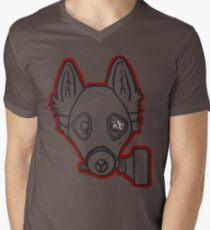 Gas Mask Wolf Broken T-Shirt