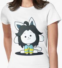 Undertale Temmie Fan-Art Womens Fitted T-Shirt