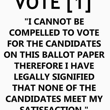 Vote [1] by DarkLordDuckie