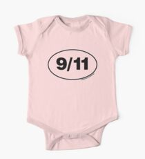9/11 Oval Stickers Kids Clothes