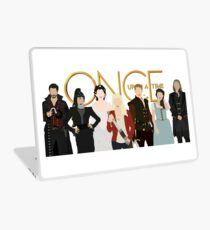 Once Upon A Time Main Cast Laptop Skin