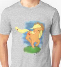 Apple Horse with background Unisex T-Shirt