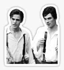 Salvatore brothers cutout Sticker