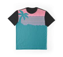 Wiped Out! Sunset Fade Graphic T-Shirt