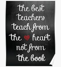 The Best Teachers Poster Poster