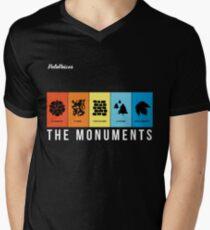 VeloVoices Monuments T-Shirt Men's V-Neck T-Shirt