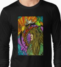 Three Birds of Rhiannon Long Sleeve T-Shirt