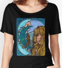 Turquoise Moon Women's Relaxed Fit T-Shirt