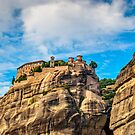 Grand Meteora Monastery, founded in the 1300's AD by Ivo Velinov