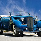 1934 Cadillac Convertible Sedan III by DaveKoontz