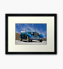 1934 Cadillac Convertible Sedan III Framed Print