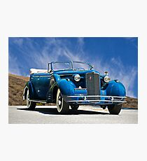 1934 Cadillac Convertible Sedan III Photographic Print