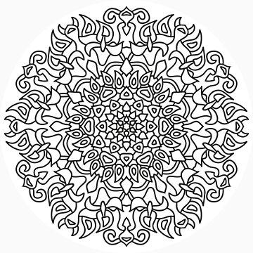 Mandala 76 by mandala-jim