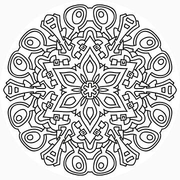 Mandala 93 by mandala-jim