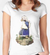 Undertale Toriel Fan-art Women's Fitted Scoop T-Shirt