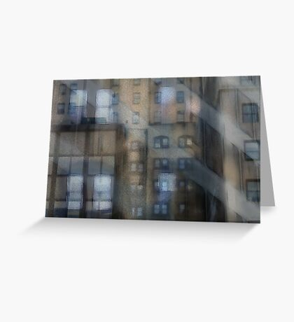 Window Panes Greeting Card