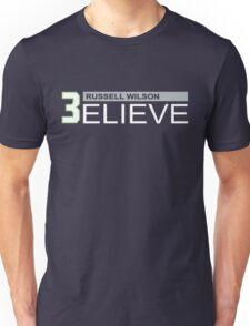Russell Wilson Believe (3elieve) T-shirt Unisex T-Shirt