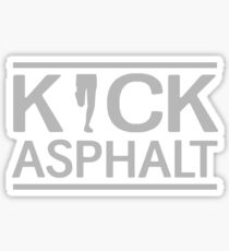 Kick Asphalt Sticker