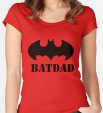 BATDAD Women's Fitted Scoop T-Shirt