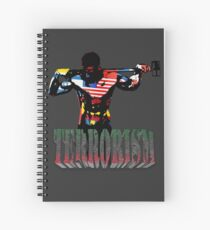 smash terrorism Spiral Notebook