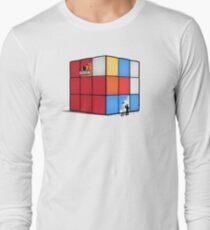 Solving the cube Long Sleeve T-Shirt