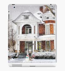 Snow for Christmas iPad Case/Skin