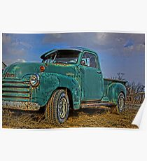 Classic Truck Poster
