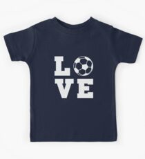 Soccer Love Kids Tee