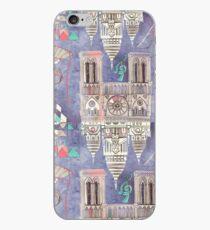 Paris in Violet iPhone Case