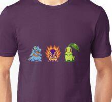 Johto Starters  Unisex T-Shirt