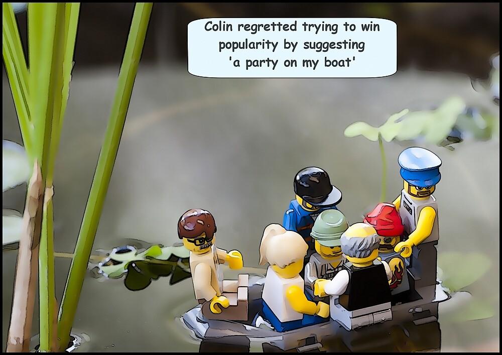 Boat Party by Bean Strangeways