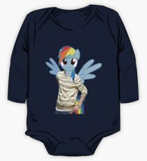 Rainbow Dash Man One Piece - Long Sleeve