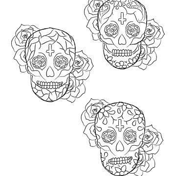 Sugar Skulls by elainejoven