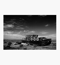 Stranded at Blakeney (Limited Edition) Photographic Print