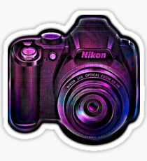 Camera II Sticker